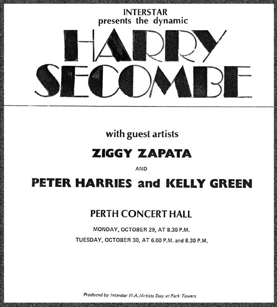 Harry Secombe advertisement
